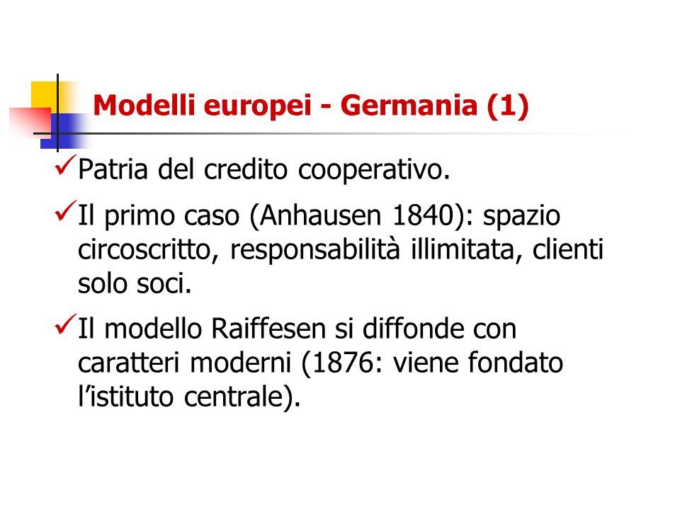 Modelli europei - Germania (1)