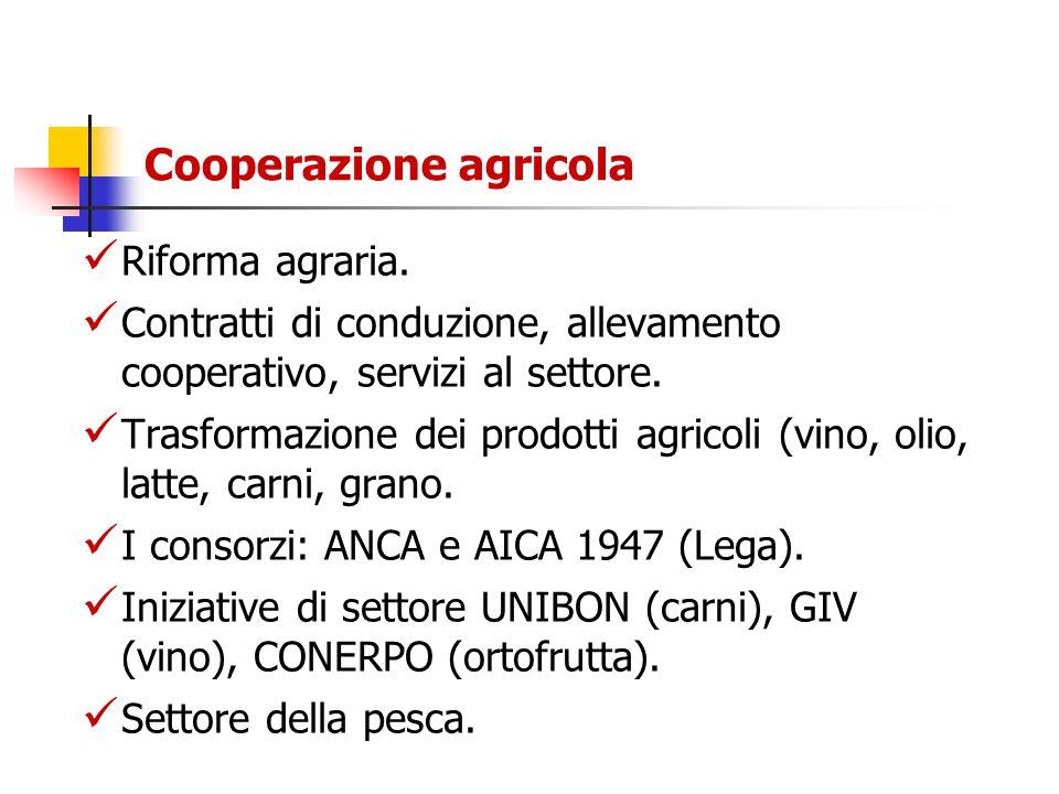 Cooperazione agricola