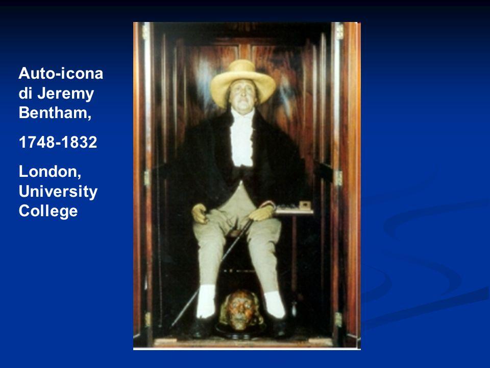 Auto-icona di Jeremy Bentham,