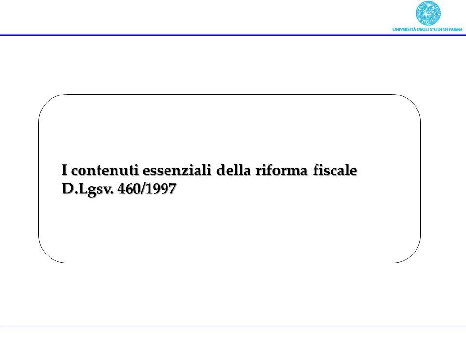 I contenuti essenziali della riforma fiscale
