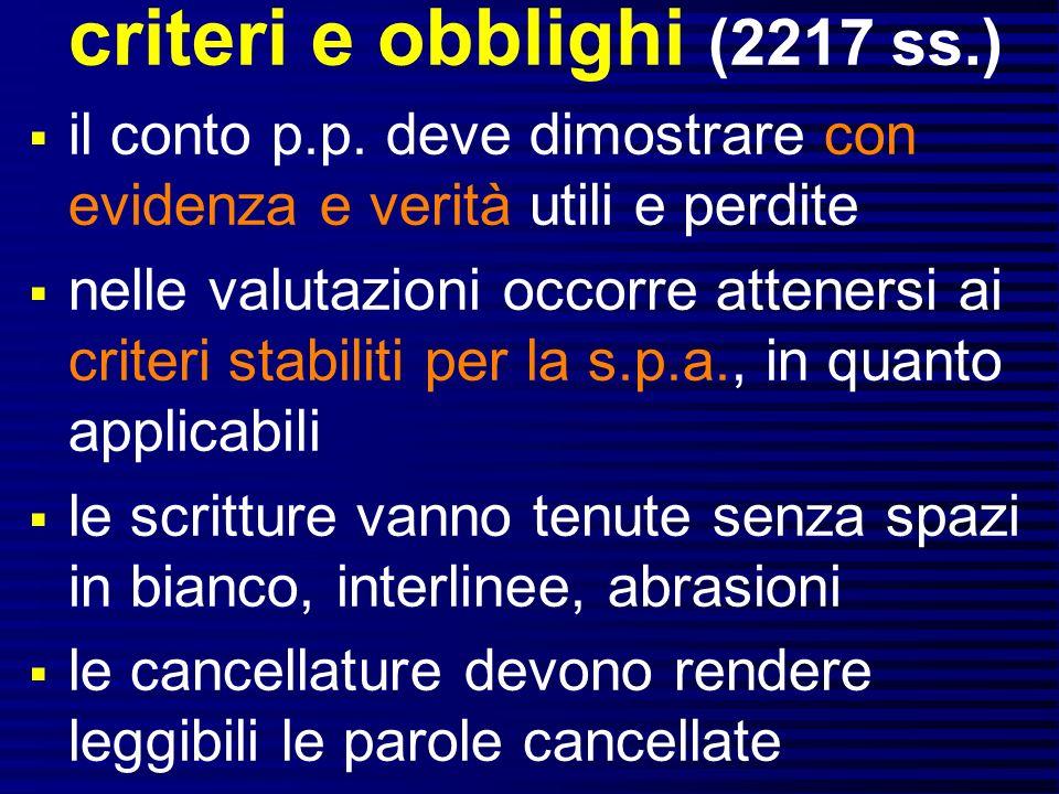criteri e obblighi (2217 ss.)