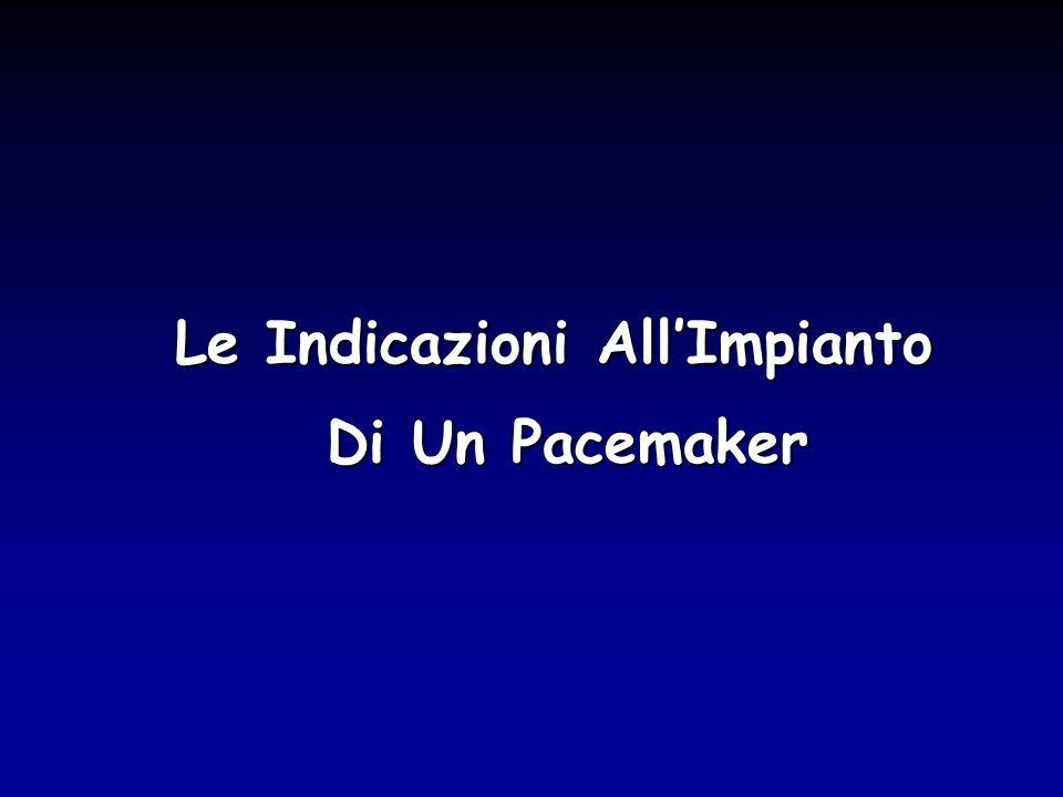 Le Indicazioni All'Impianto Di Un Pacemaker