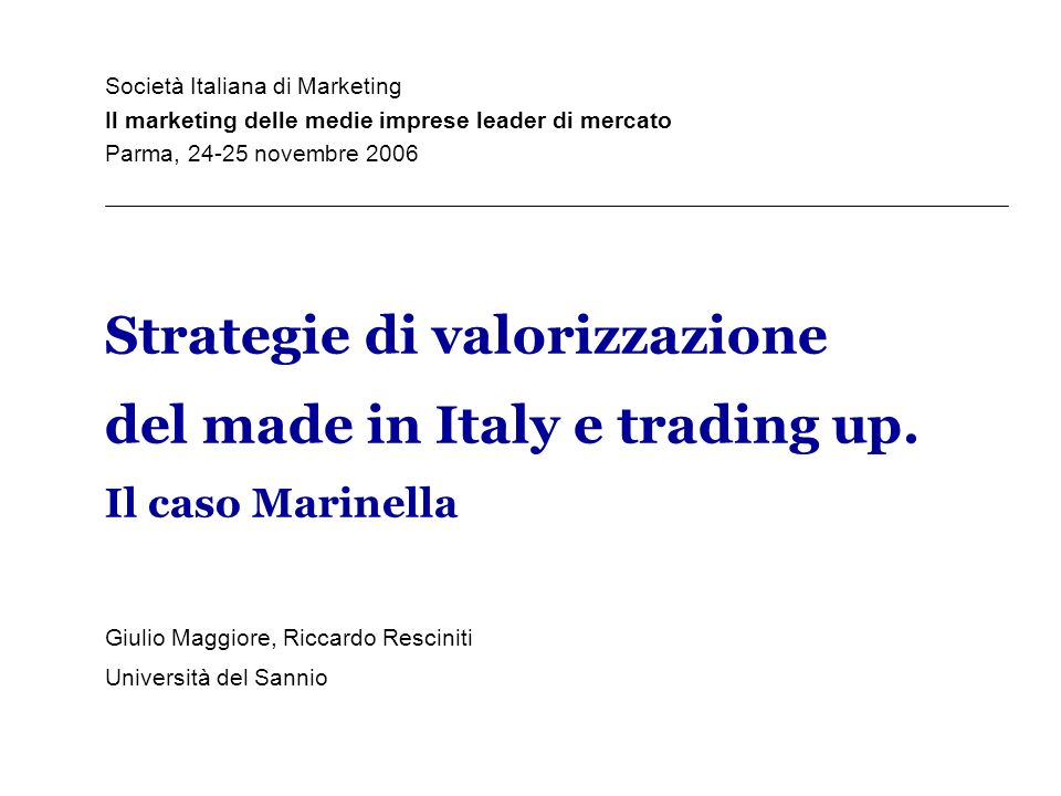 Società Italiana di Marketing