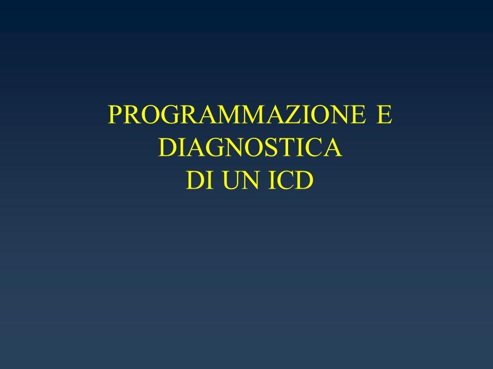 PROGRAMMAZIONE E DIAGNOSTICA DI UN ICD