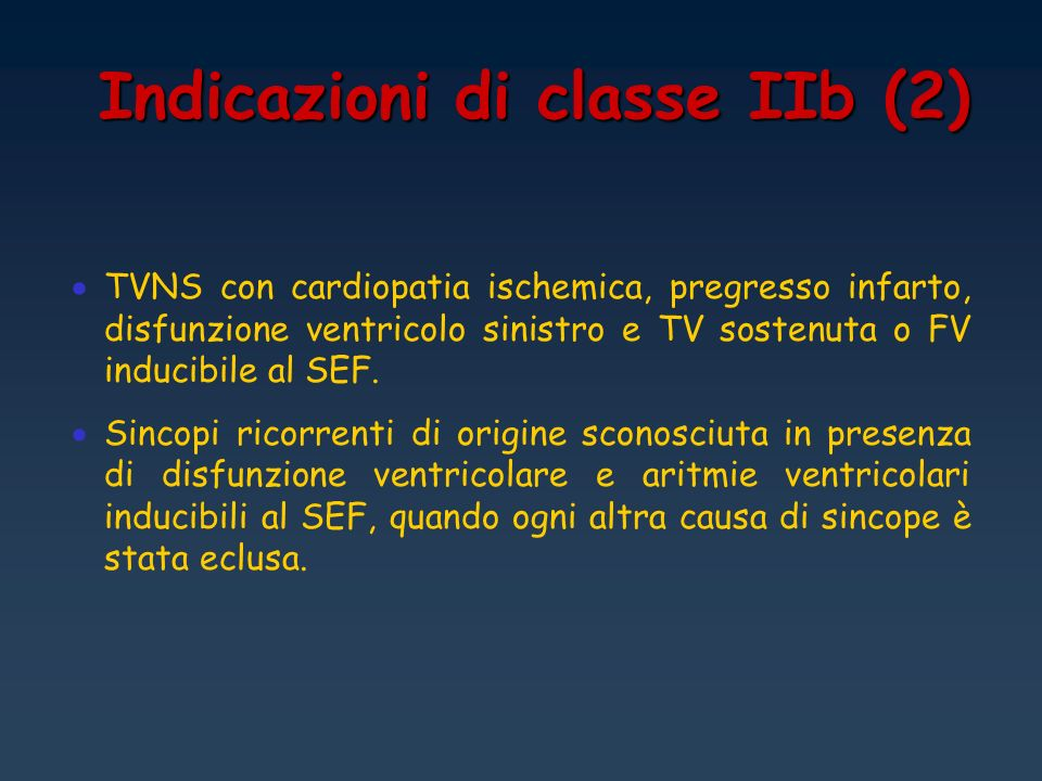Indicazioni di classe IIb (2)