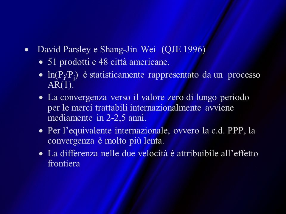 David Parsley e Shang-Jin Wei (QJE 1996)
