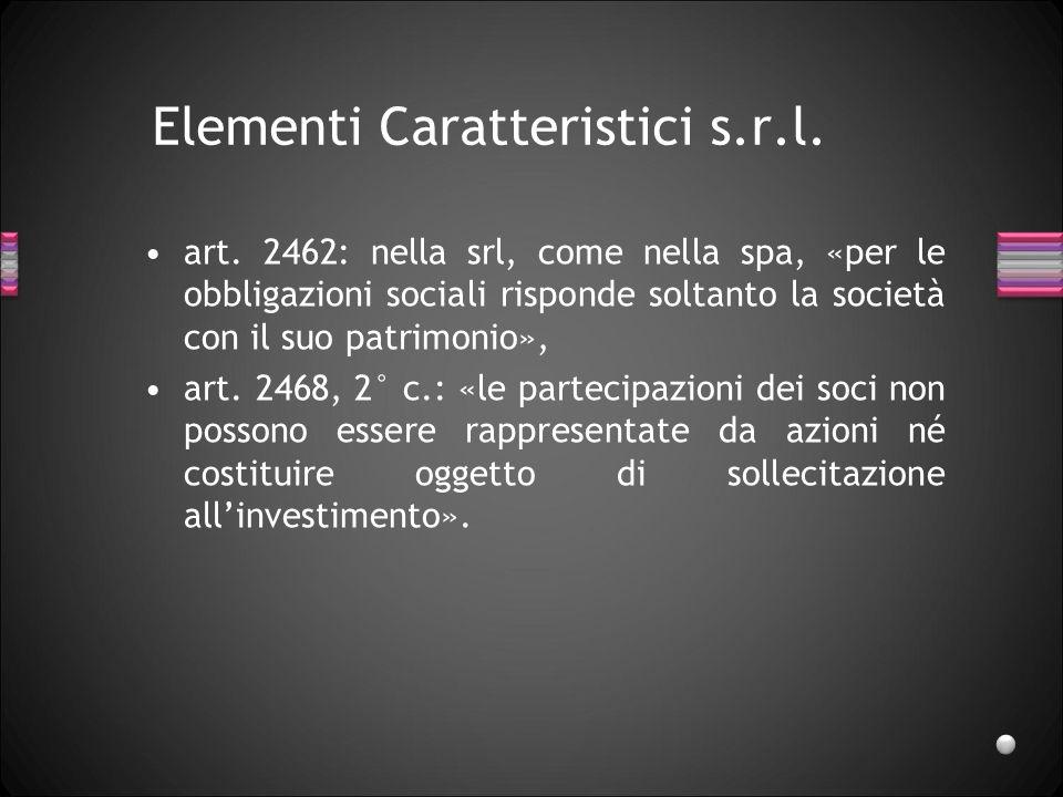 Elementi Caratteristici s.r.l.