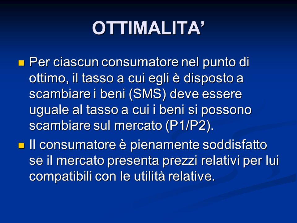 OTTIMALITA'