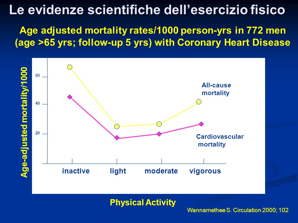 Le evidenze scientifiche dell'esercizio fisico
