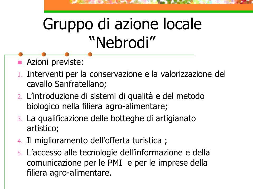 Gruppo di azione locale Nebrodi