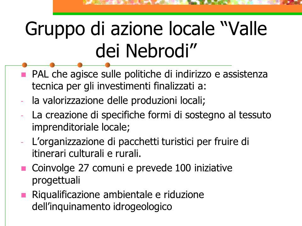 Gruppo di azione locale Valle dei Nebrodi