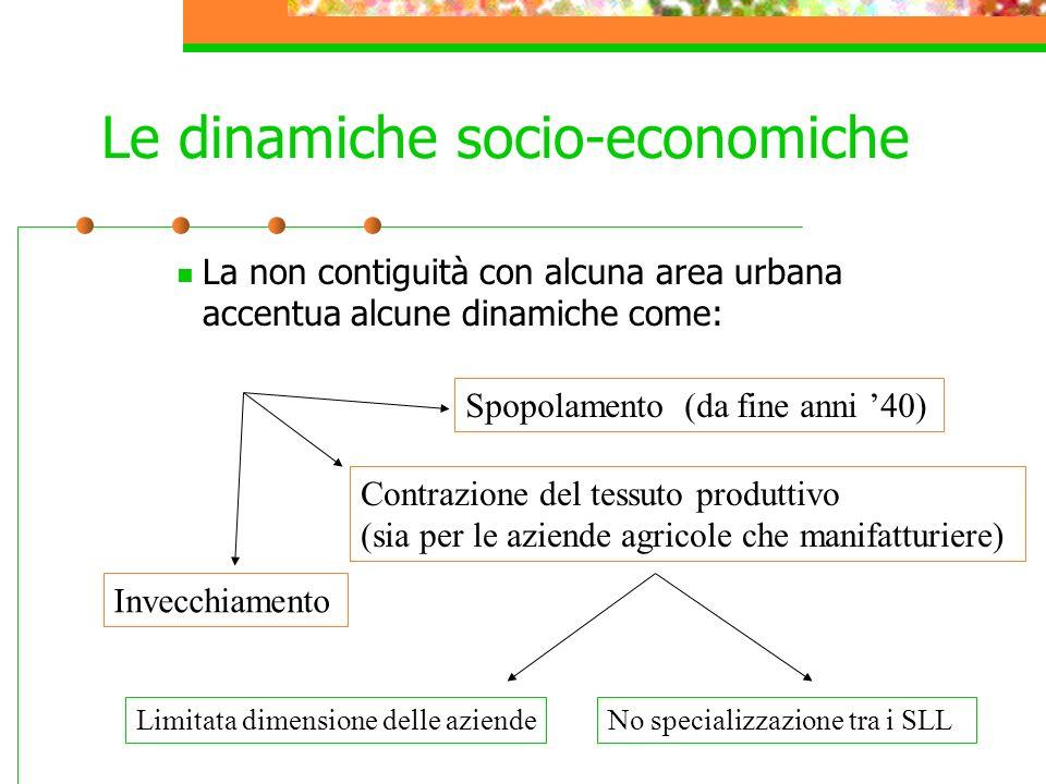 Le dinamiche socio-economiche