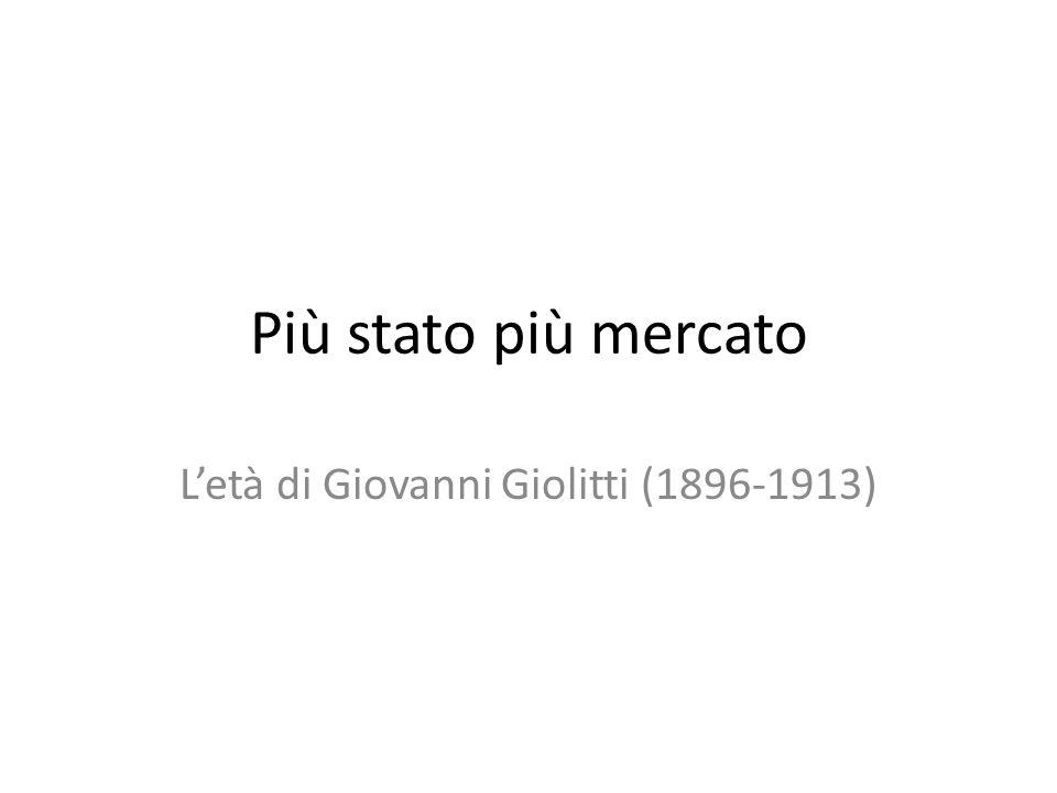 L'età di Giovanni Giolitti (1896-1913)