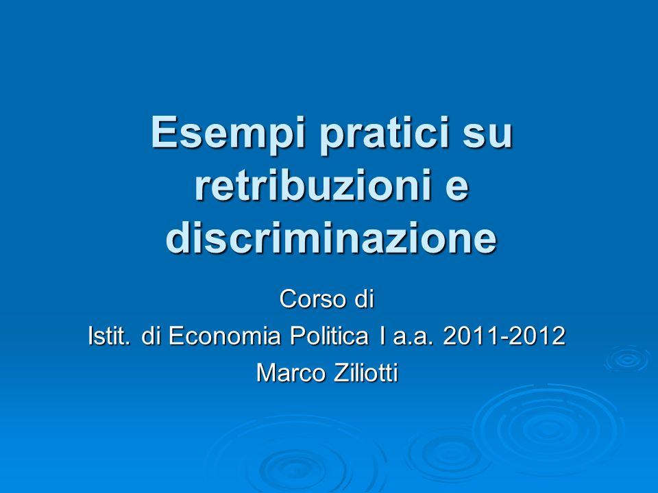 Esempi pratici su retribuzioni e discriminazione