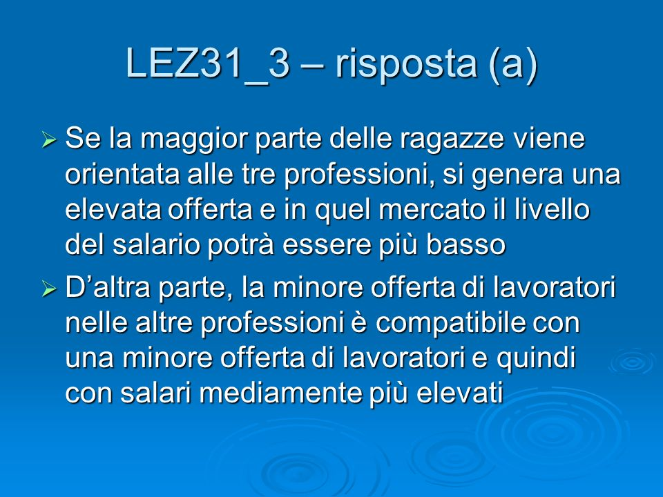 LEZ31_3 – risposta (a)