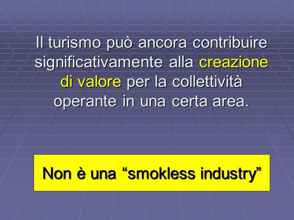 Non è una smokless industry