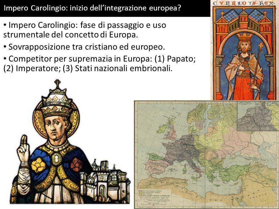 Sovrapposizione tra cristiano ed europeo.