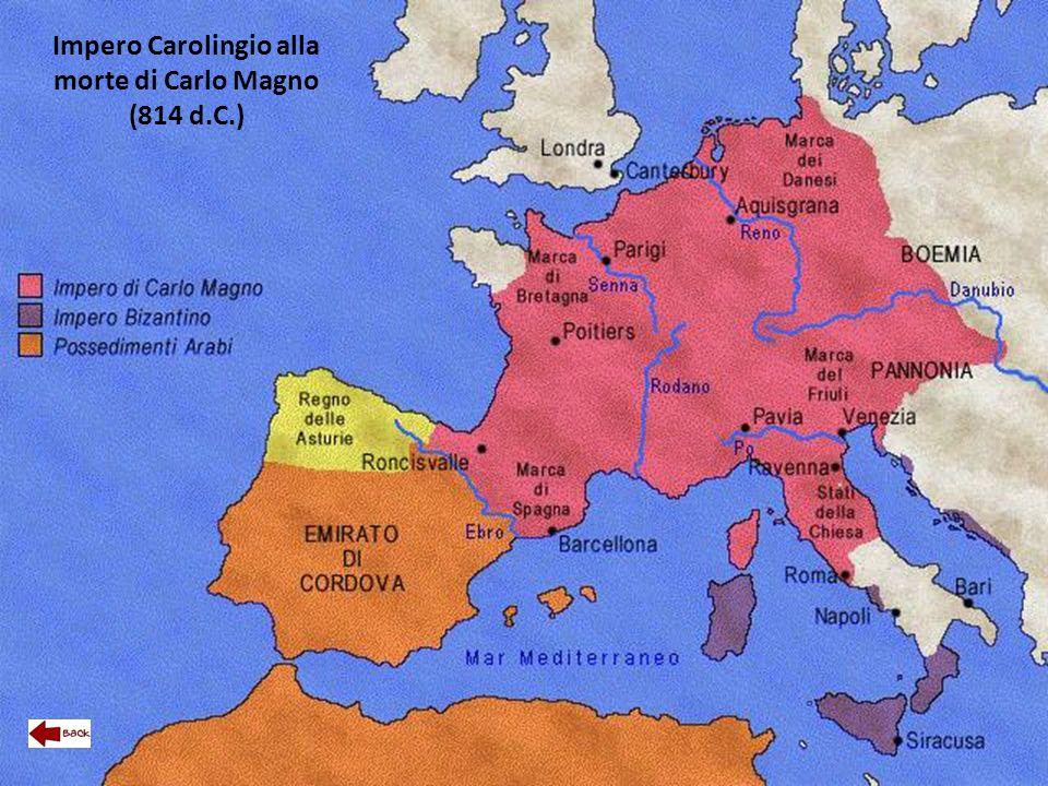 Impero Carolingio alla