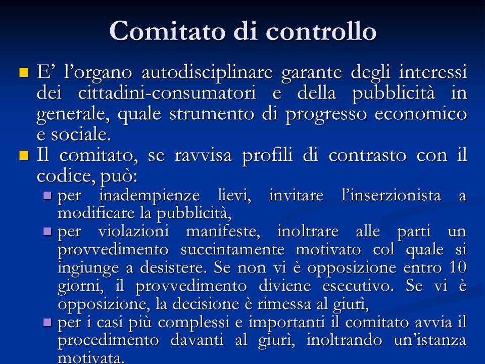 Comitato di controllo