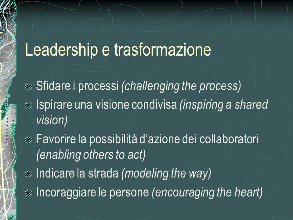 Leadership e trasformazione