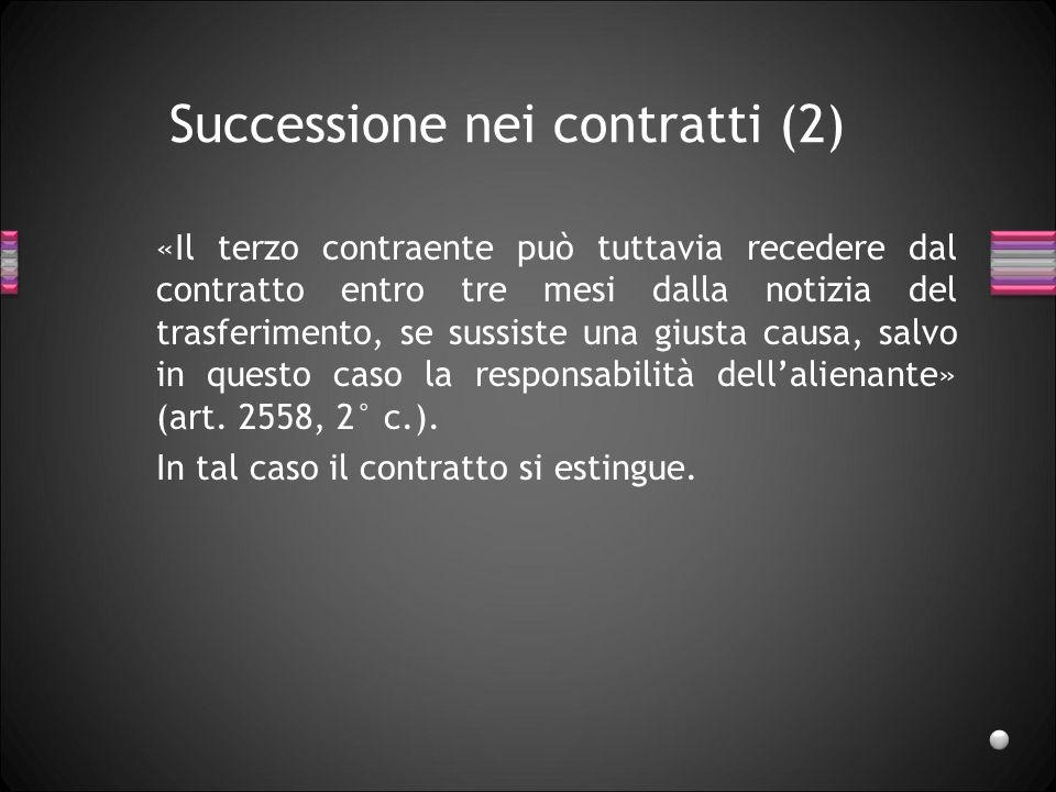 Successione nei contratti (2)