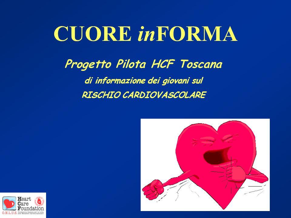 CUORE inFORMA Progetto Pilota HCF Toscana