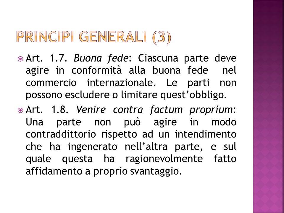 Principi generali (3)