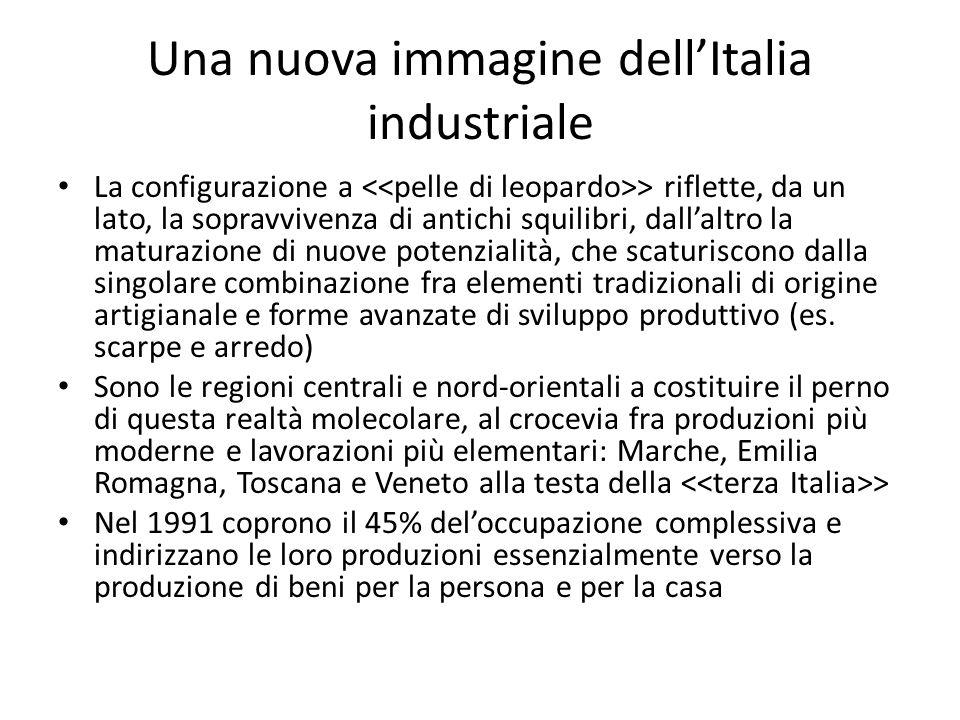 Una nuova immagine dell'Italia industriale