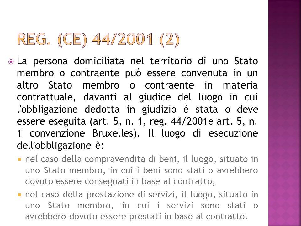 Reg. (CE) 44/2001 (2)