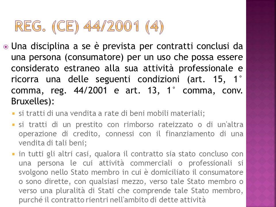 Reg. (CE) 44/2001 (4)