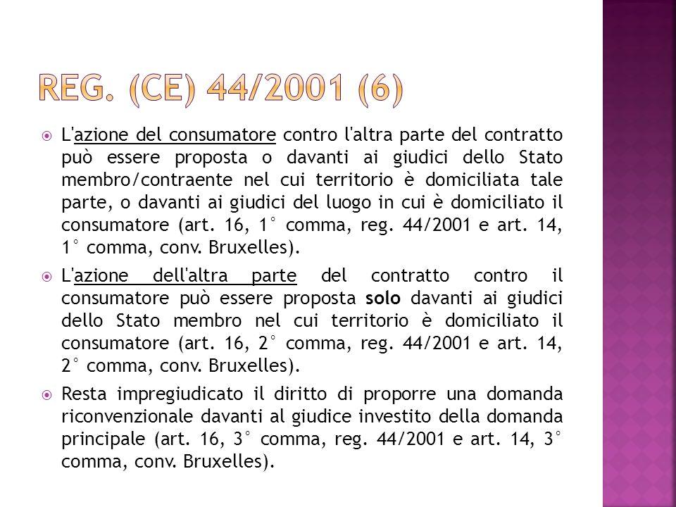 Reg. (CE) 44/2001 (6)