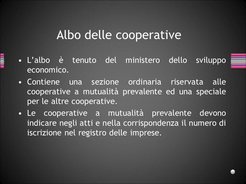 Albo delle cooperative