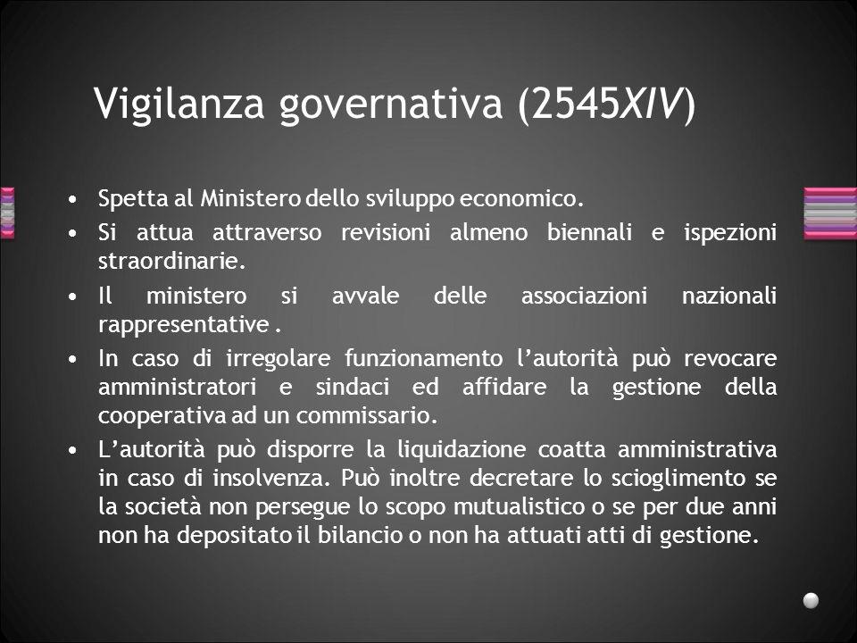 Vigilanza governativa (2545XIV)