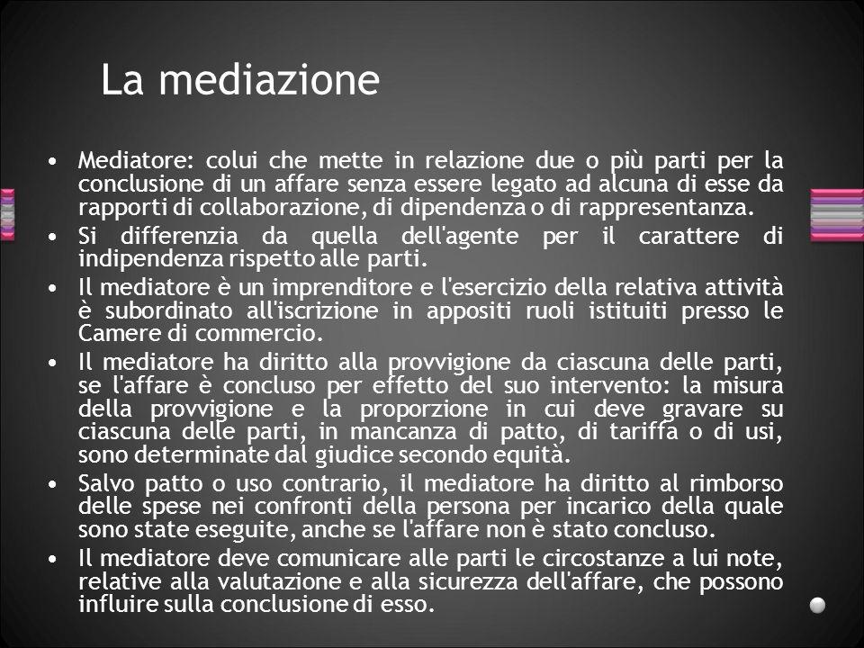 La mediazione