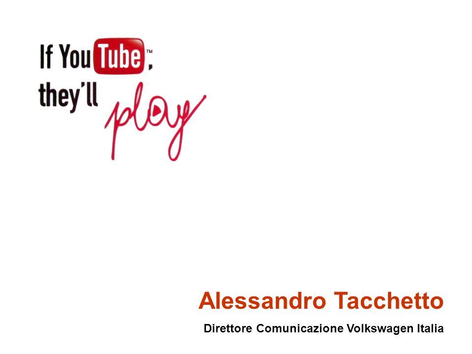 Alessandro Tacchetto Direttore Comunicazione Volkswagen Italia