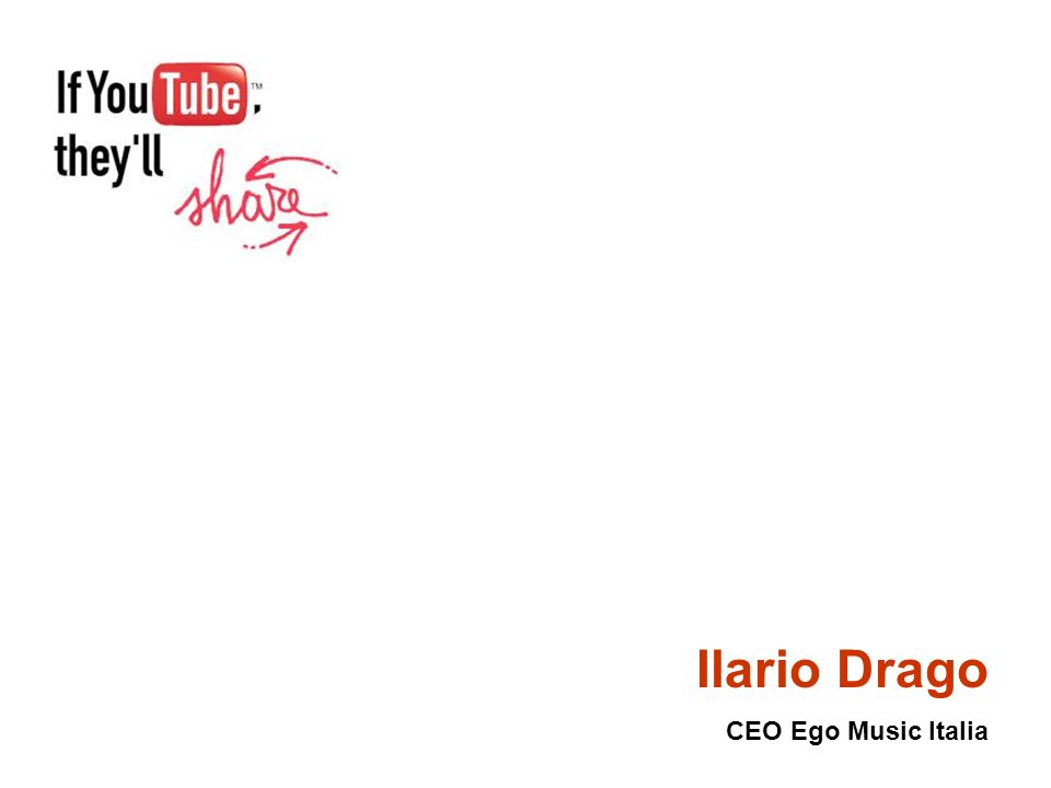 Ilario Drago CEO Ego Music Italia