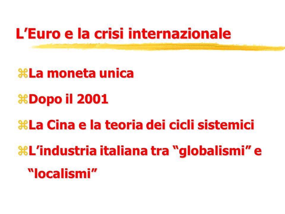 L'Euro e la crisi internazionale