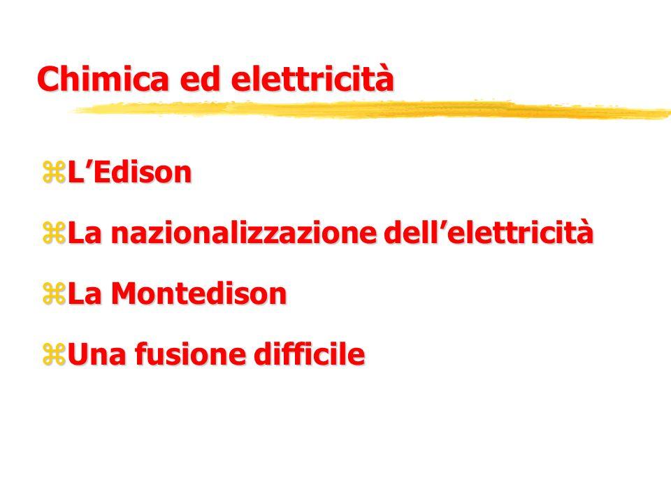 Chimica ed elettricità