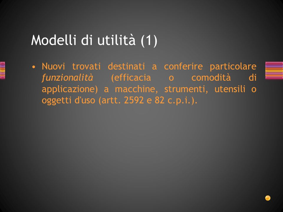 Modelli di utilità (1)