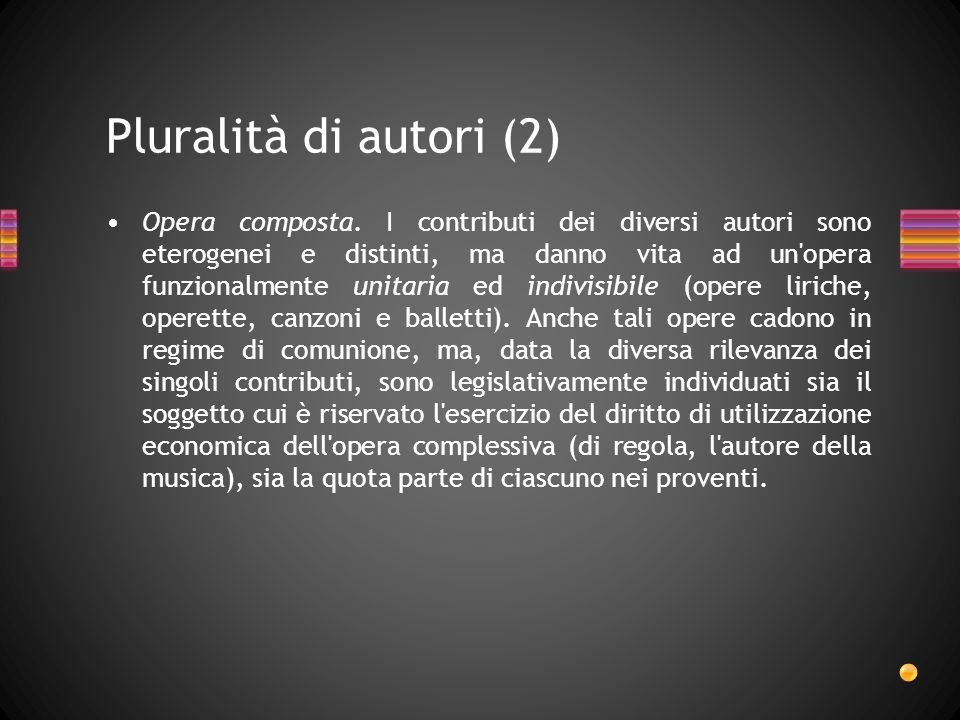 Pluralità di autori (2)