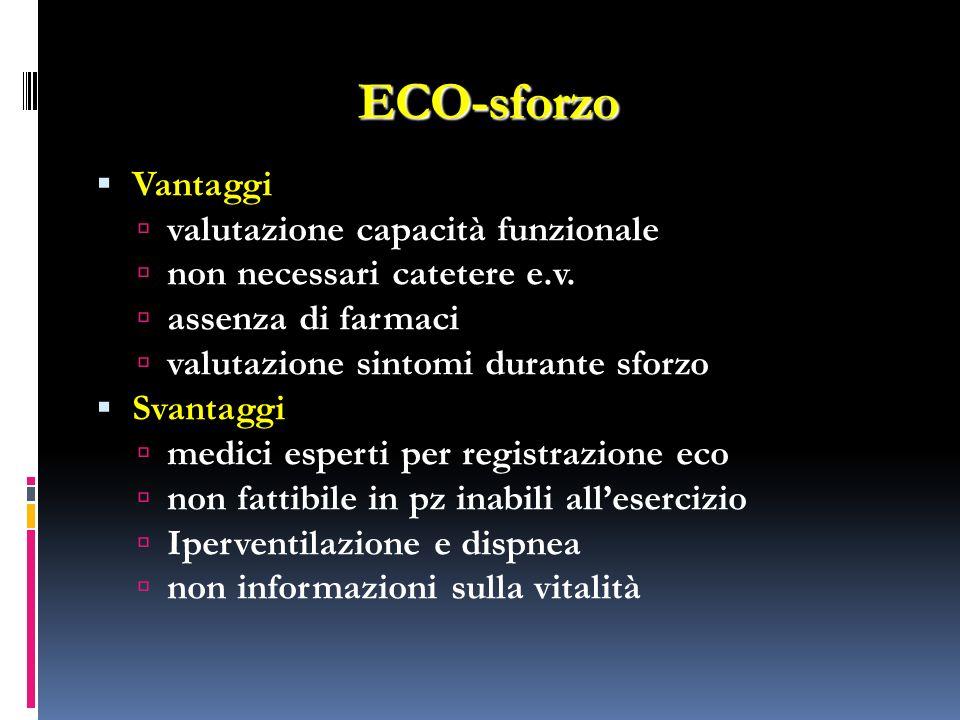 ECO-sforzo Vantaggi valutazione capacità funzionale