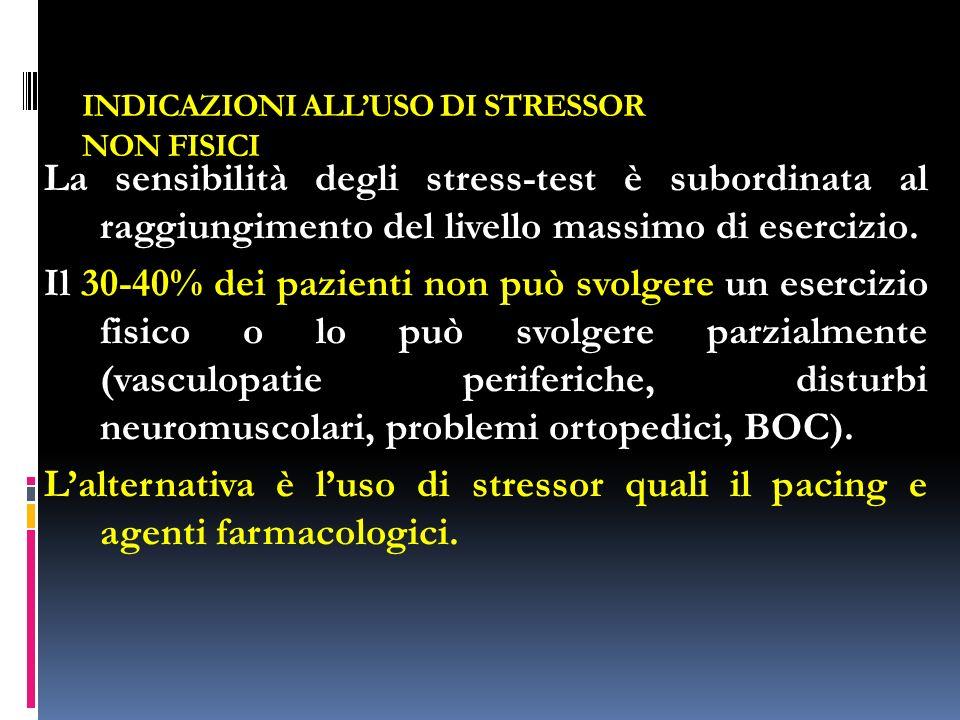 INDICAZIONI ALL'USO DI STRESSOR NON FISICI