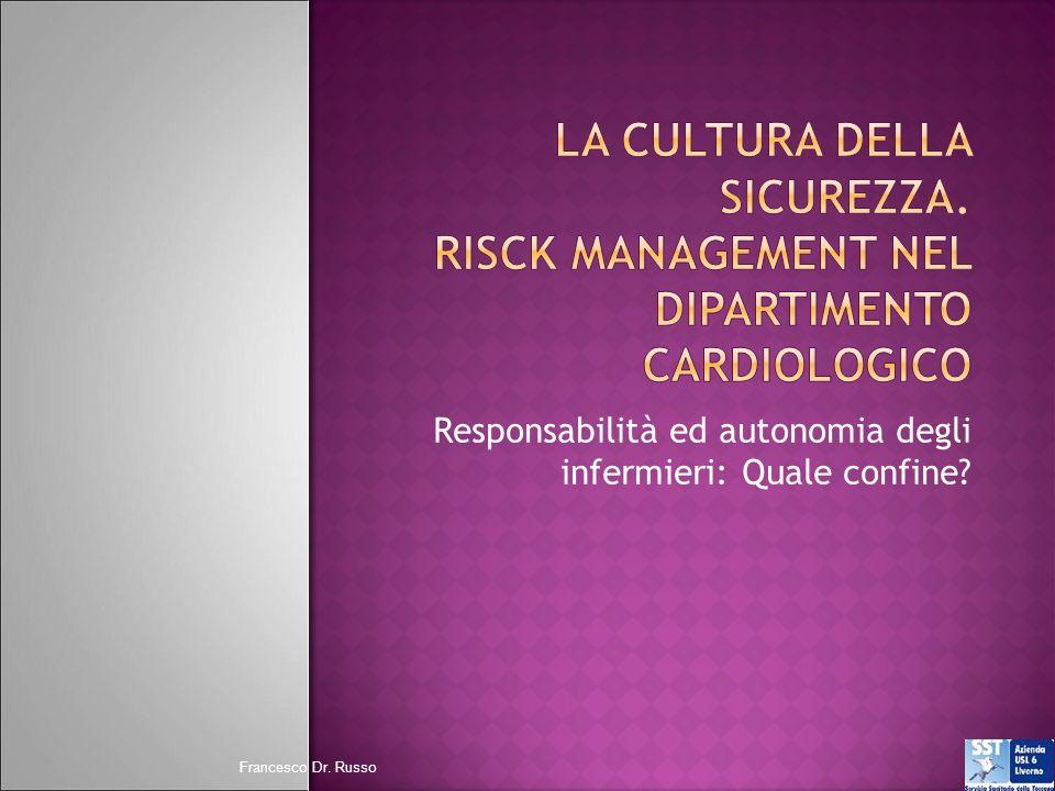 Responsabilità ed autonomia degli infermieri: Quale confine