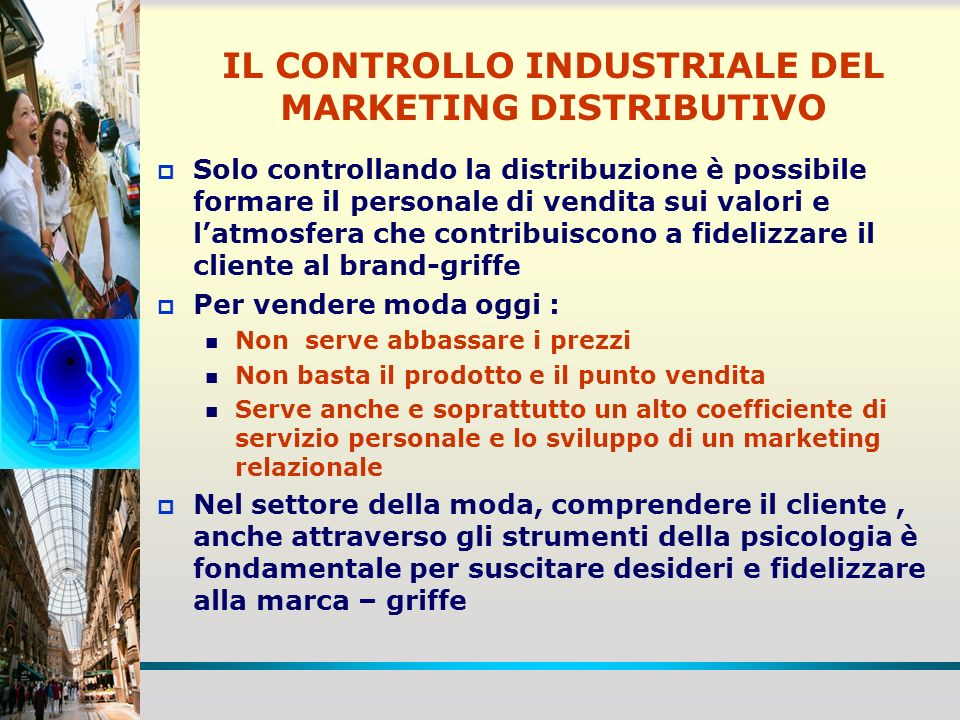 IL CONTROLLO INDUSTRIALE DEL MARKETING DISTRIBUTIVO