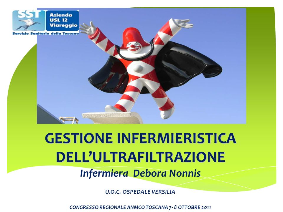GESTIONE INFERMIERISTICA DELL'ULTRAFILTRAZIONE