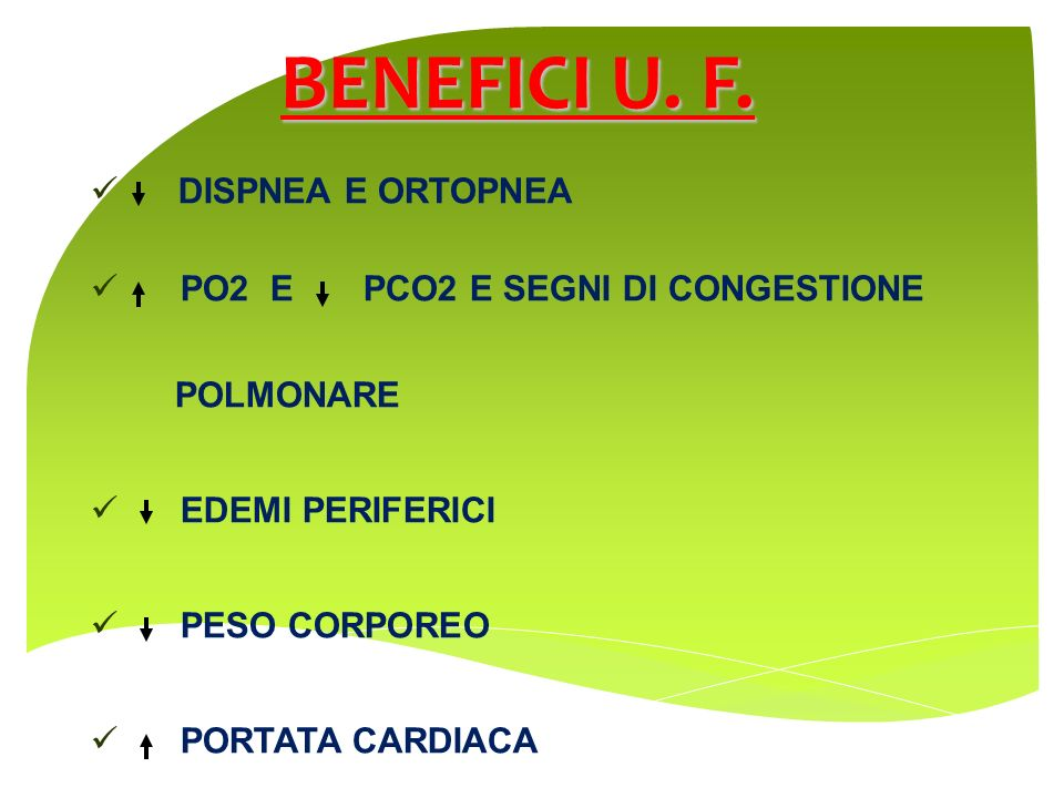 BENEFICI U. F. DISPNEA E ORTOPNEA