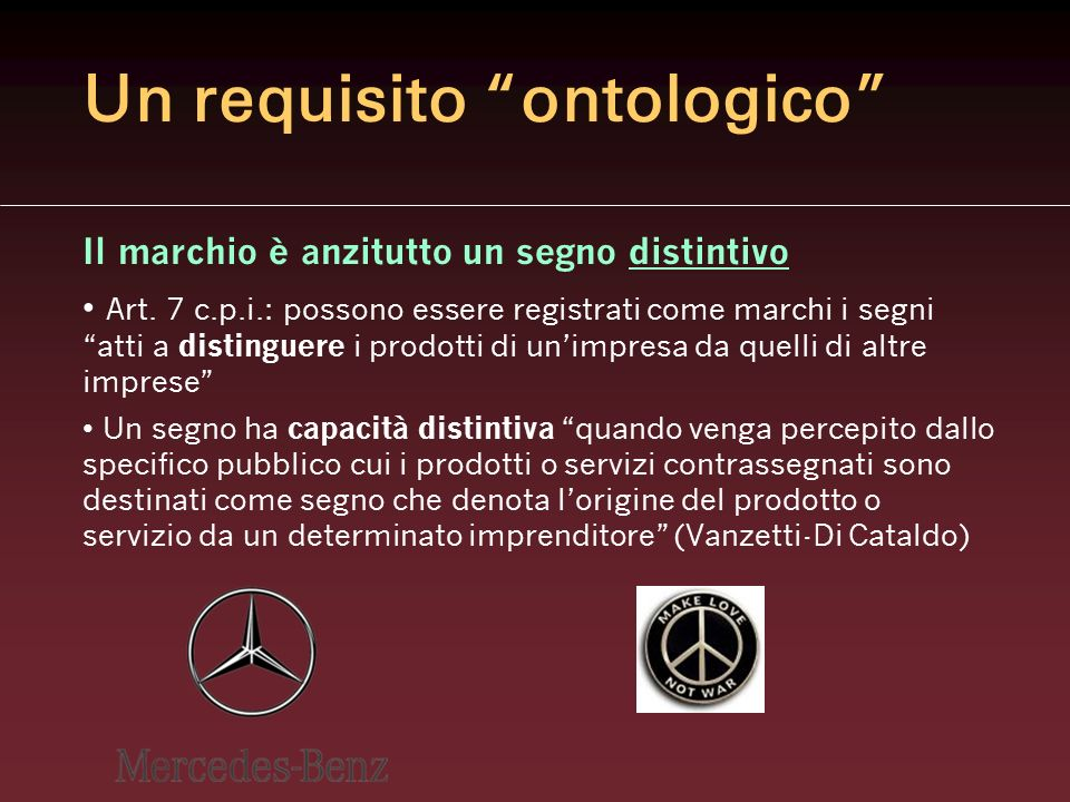 Un requisito ontologico