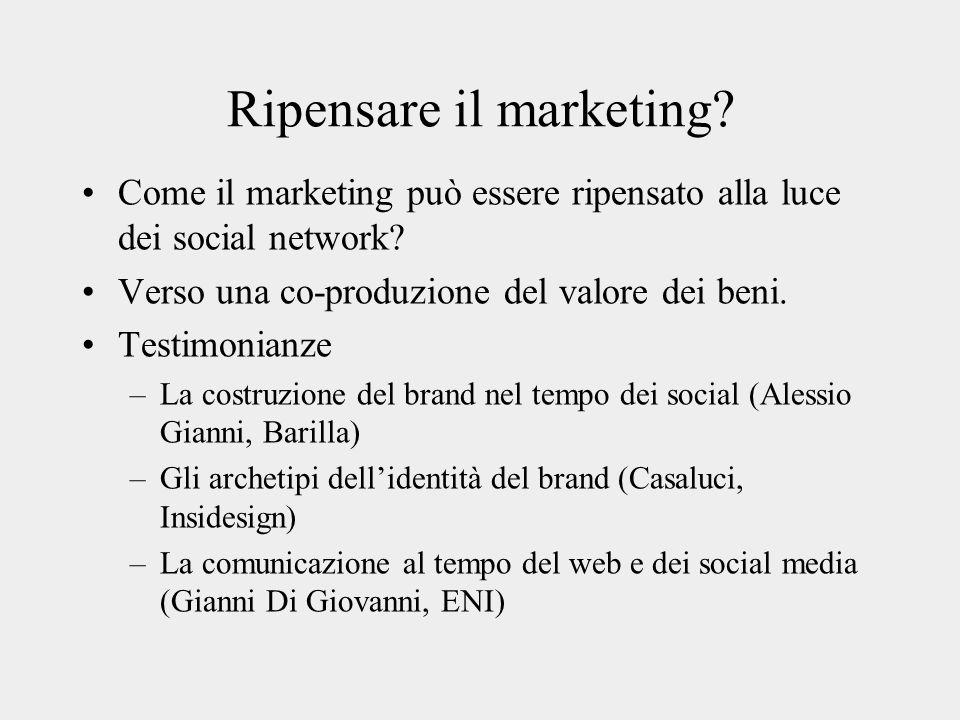 Ripensare il marketing