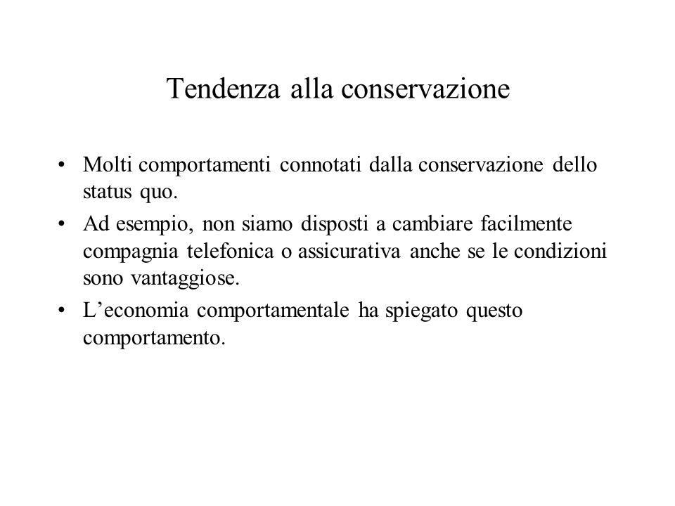 Tendenza alla conservazione