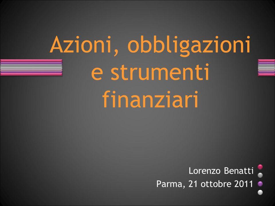 Lorenzo Benatti Parma, 21 ottobre 2011